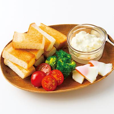 パンがメインの朝ごはん献立 子供にも栄養たっぷりな理想の朝食 おかず20選 小学館hugkum