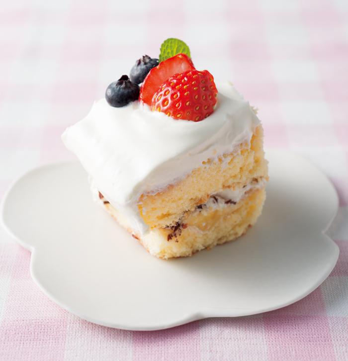 ざっくり取り分けで大人数で楽しめる!「スコップケーキ」