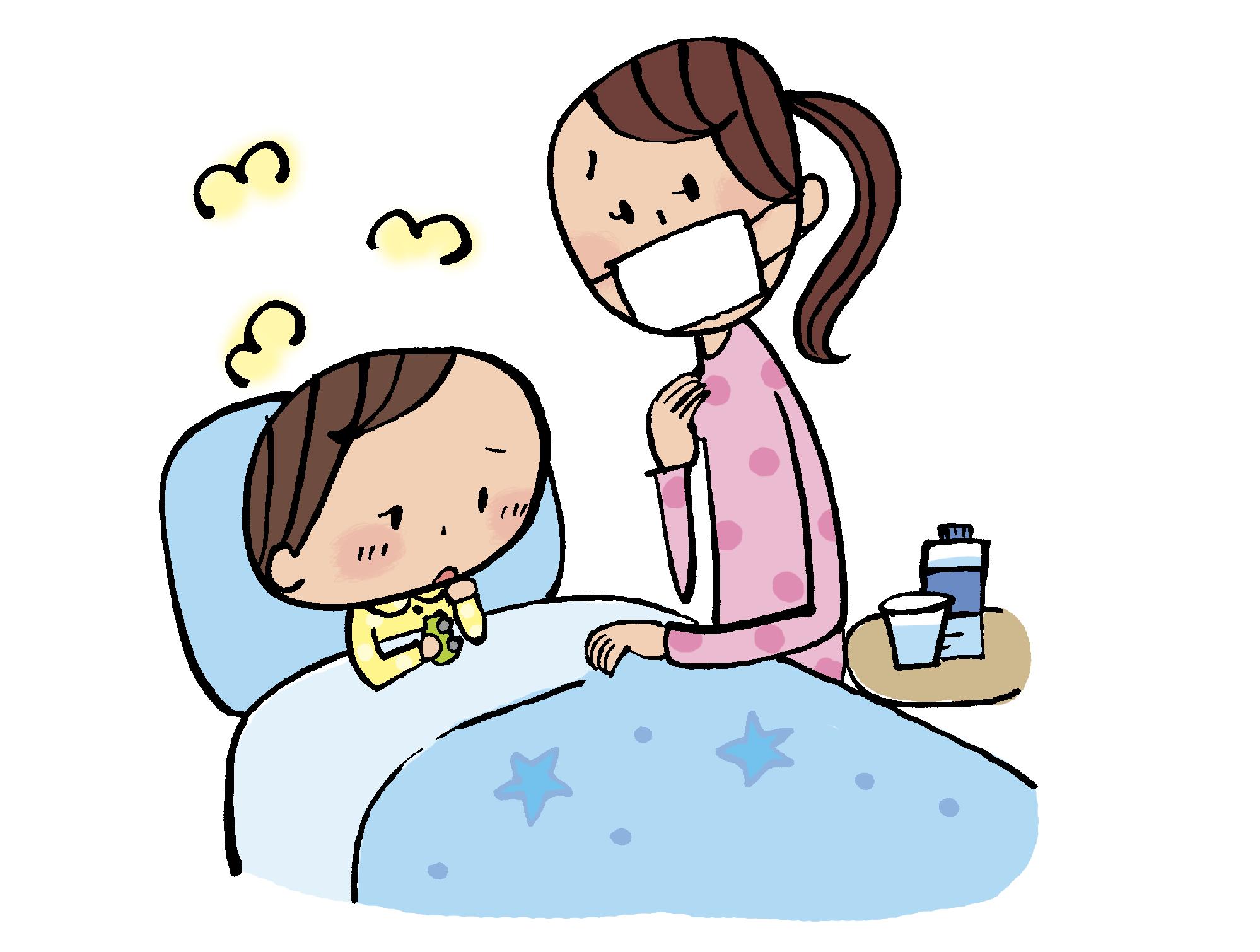 嘔吐の時は牛乳パックちりとり 発熱 下痢など子どもの冬の病気まとめ