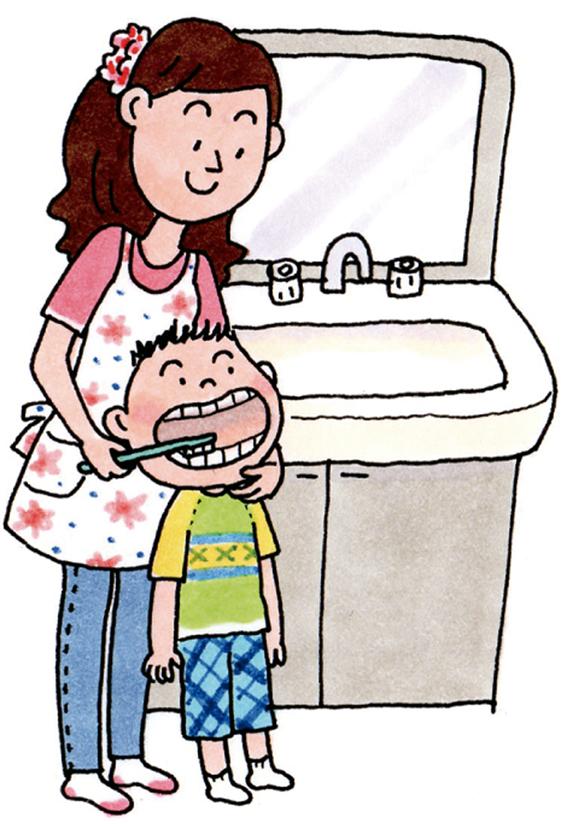 親の仕上げ磨き|子どもの虫歯の原因と歯磨き