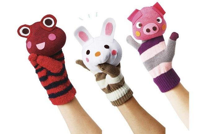 靴下と手袋をリメイク!作る楽しさも味わえる手作りおもちゃ
