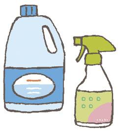 トイレや浴室での洗剤の誤飲に注意!