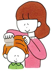 アタマジラミの駆除 子どものかゆみ原因や症状、対処法