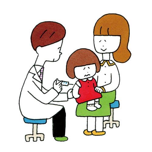 予防接種を受けよう子どものインフルエンザ予防と対策