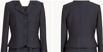 「メアリーココ」で販売されている『上質濃紺スーツ』