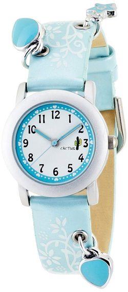 キッズ腕時計 スカイブルー CAC-28-L04 ガールズ/Cactus(カクタス)