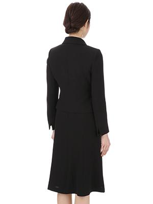 洋服の青山【公式通販】の「レディース セレモニーフォーマル」で販売されている『HILTON【お受験対応】ショールカラーアンサンブル (H1803100-23)』