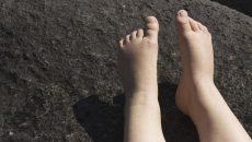 子どもの足の痛み1