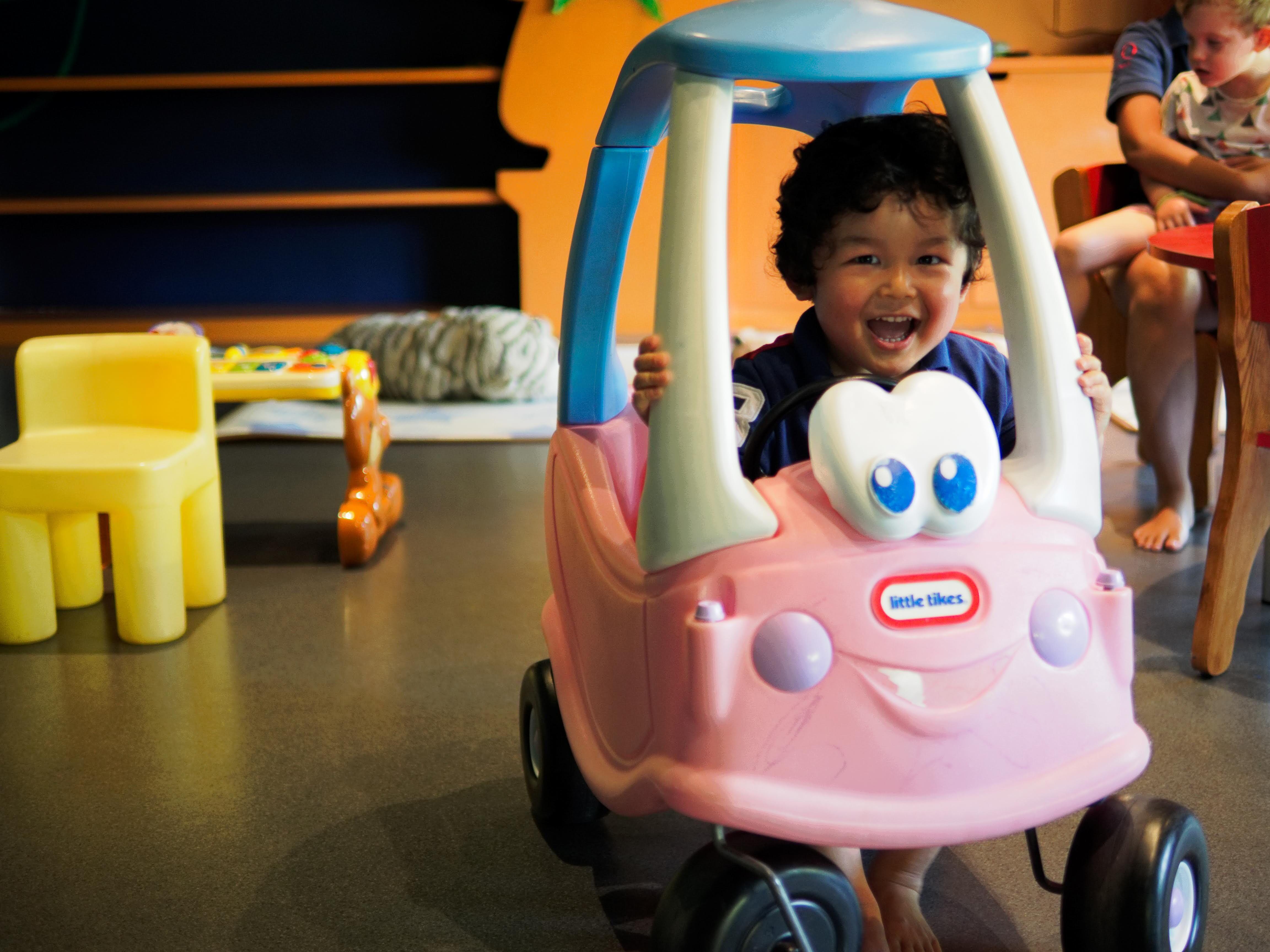 運転できるおもちゃのイメージ画像