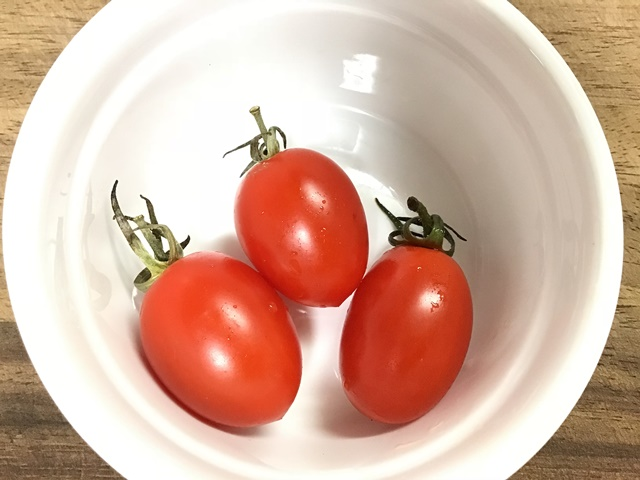 離乳食 トマト