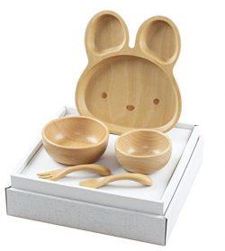 お食い初め 北欧産ブナ材の子ども食器セット