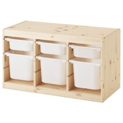 【IKEA/イケア】TROFAST 収納コンビネーション