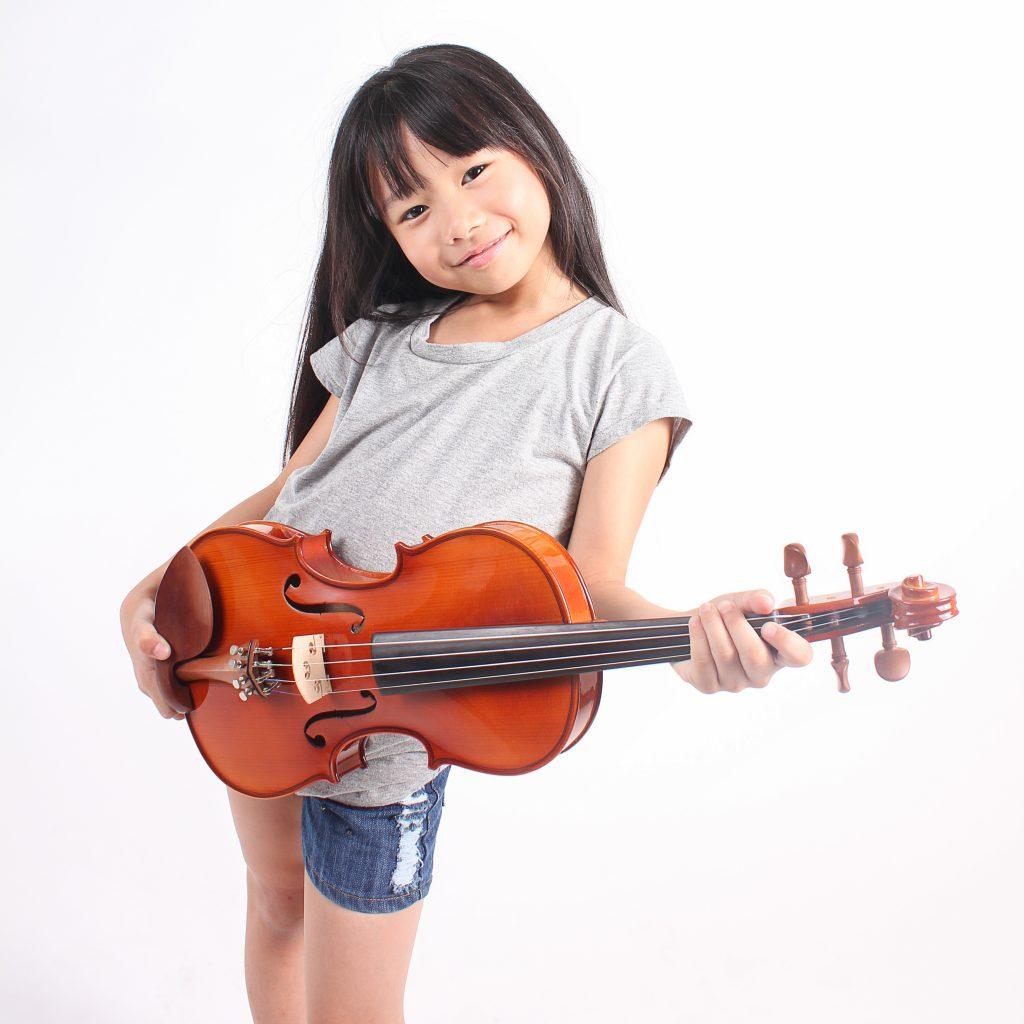 バイオリン教室で習う練習レベルとバイオリンのサイズは?