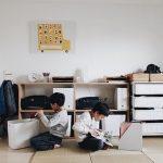 【無印良品】の棚を使ってランドセルラックに!ママの収納アイデアや実例を紹介