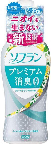 ソフラン プレミアム消臭 柔軟剤 フルーティグリーンアロマの香り