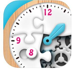 時計くみたてパズル