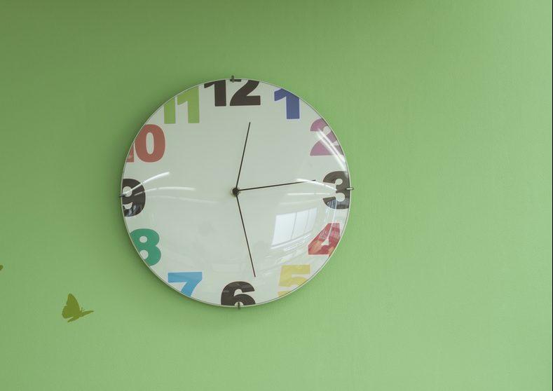 子供と時計