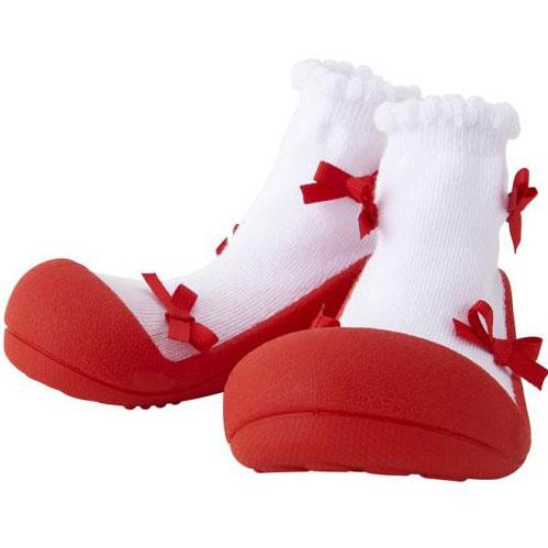 Baby feet バレリーナ レッド