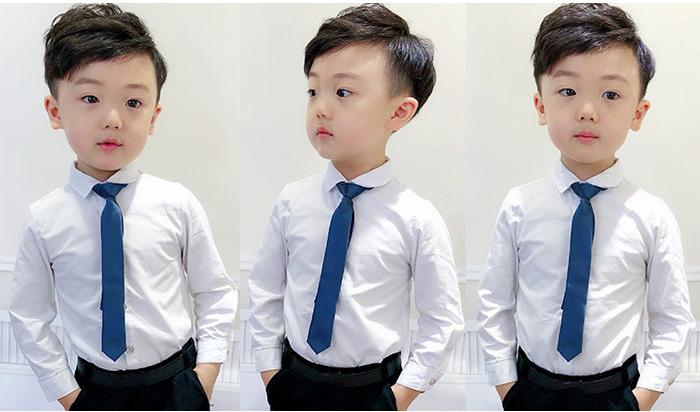 男の子 フォーマルシャツ