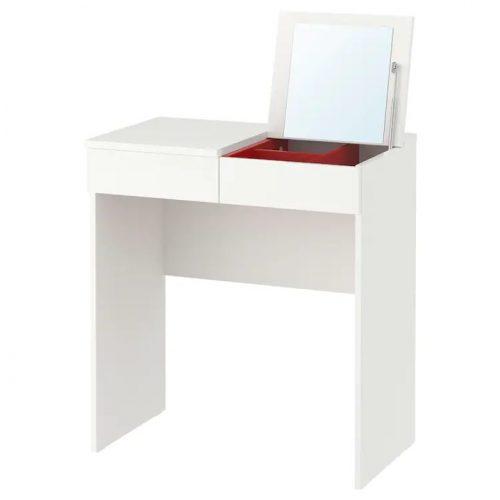 BRIMNES ブリムネス ドレッシングテーブル, ホワイト, 70x42 cm