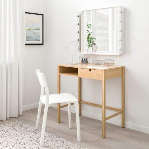 NORDKISA ノールドシーサ ドレッシングテーブル, 竹, 76x47 cm