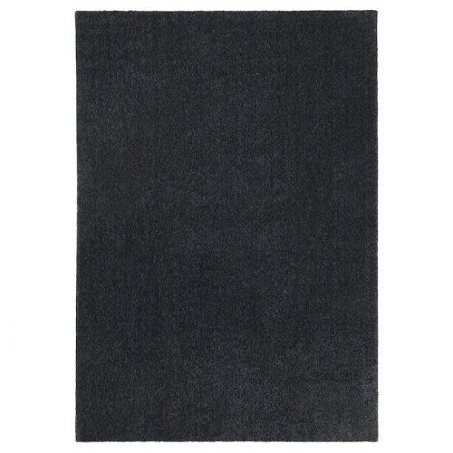 TYVELSE ティヴェルセー ラグ パイル短, ダークグレー, 170x240 cm