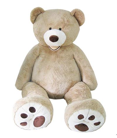 「クマのぬいぐるみ サイズ 約236cm」(¥39,800)