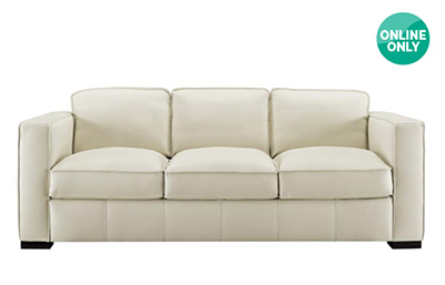 「NATUZZI GROUP 革製ソファー」サイズ:2209 x965 x 812 mm(¥118,000/オンライン価格)