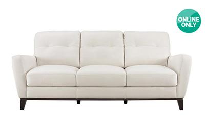 「NATUZZI GROUP 革製ソファー MILLS」サイズ:2110 x 990 x 870 mm(¥94,800/オンライン価格)
