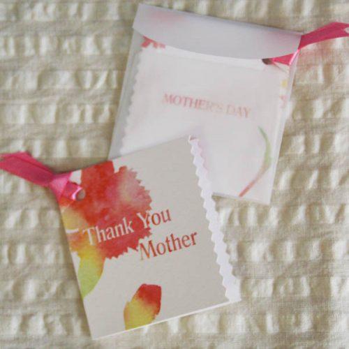 ミニ母の日カード「Thank You Mother」