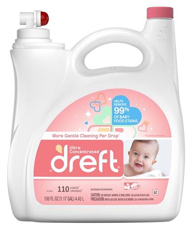 「ドレフト 赤ちゃん衣料用 液体洗濯洗剤 4.43L」(¥3,988/オンライン価格)