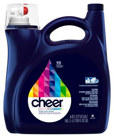 色物をきれいにキープ!「チアー 液体洗剤 4.25L」(¥1,799/オンライン価格)
