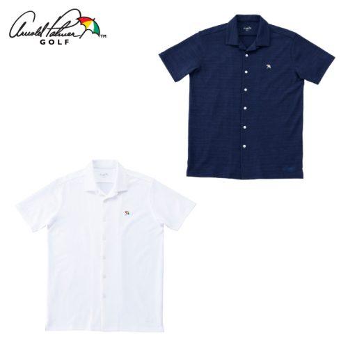 オープンカラー半袖シャツ AP220101I03