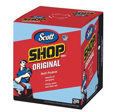 「スコットショップタオルブルーボックス200枚」(¥1,698/オンライン価格)