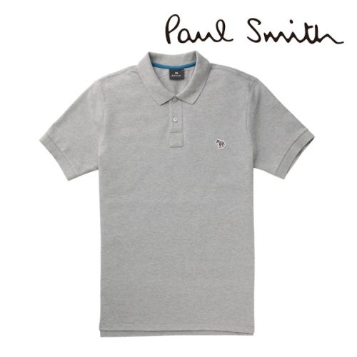 PAUL SMITH ポロシャツ(グレー)PS-668