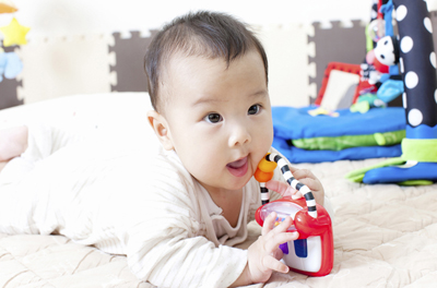生後5ヶ月の赤ちゃんの成長と発育