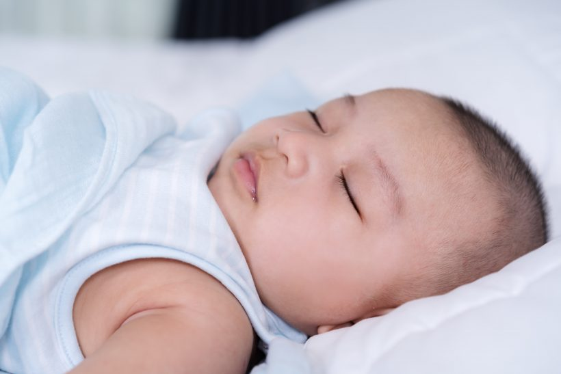 赤ちゃんの頭皮の乾燥