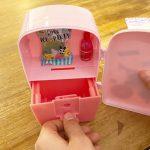 遊び心たっぷり♡冷蔵庫型貯金箱のカギは、まさかのあのアイテム…!?【『ちゃお2月号』ふろく】