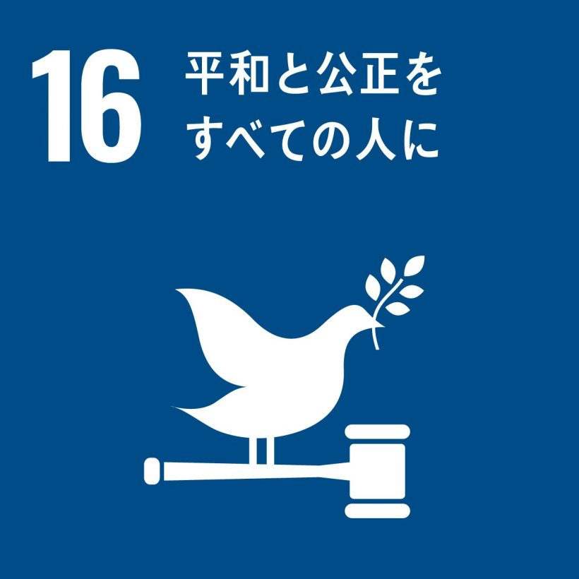 16 平和と公正をすべての人に