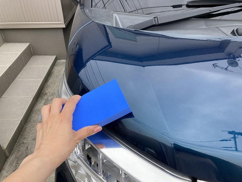 手順4:洗車の拭き上げにも使おう!