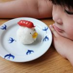 インスタで話題の超簡単「顔ごはん」にトライ♡子どもがモリモリ食べる!