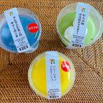 【セブンイレブン】夏の新スイーツ3種食べ比べ!ぜいたく過ぎるほどいろいろ入っていて食べるのが楽し~い♡