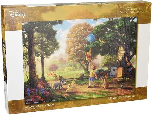 1000ピース ジグソーパズル くまのプーさん Winnie The Pooh II スペシャルアートコレクション