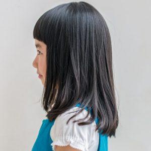 子供 前髪 カット