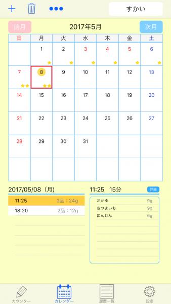 初期 カレンダー 離乳食 進め方
